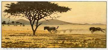 "Yoshida Tōshi ""One Day in East Africa No. 2"" 1991 thumbnail"